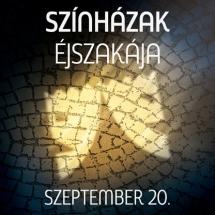 Szeptember 20-án ismét Színházak Éjszakája!