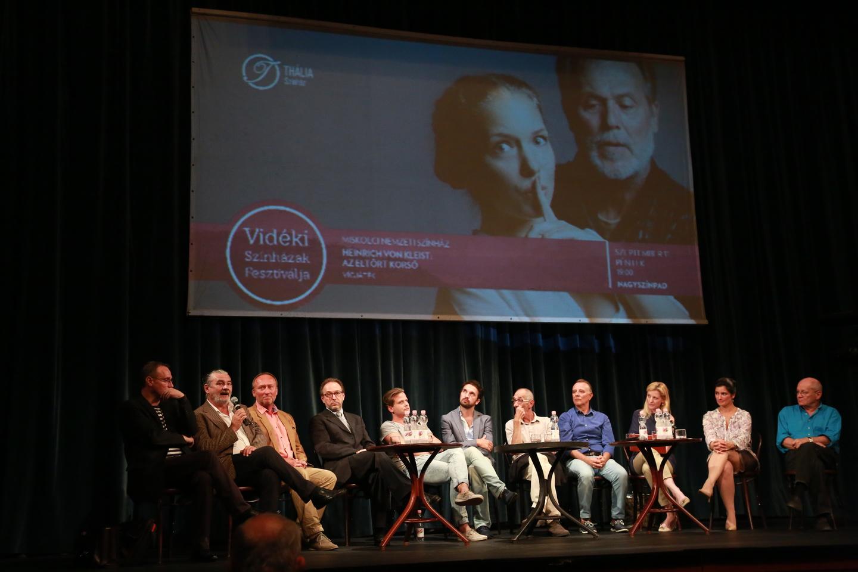 Vidéki Színházak Fesztiválja 2015 - sajtótájékoztató