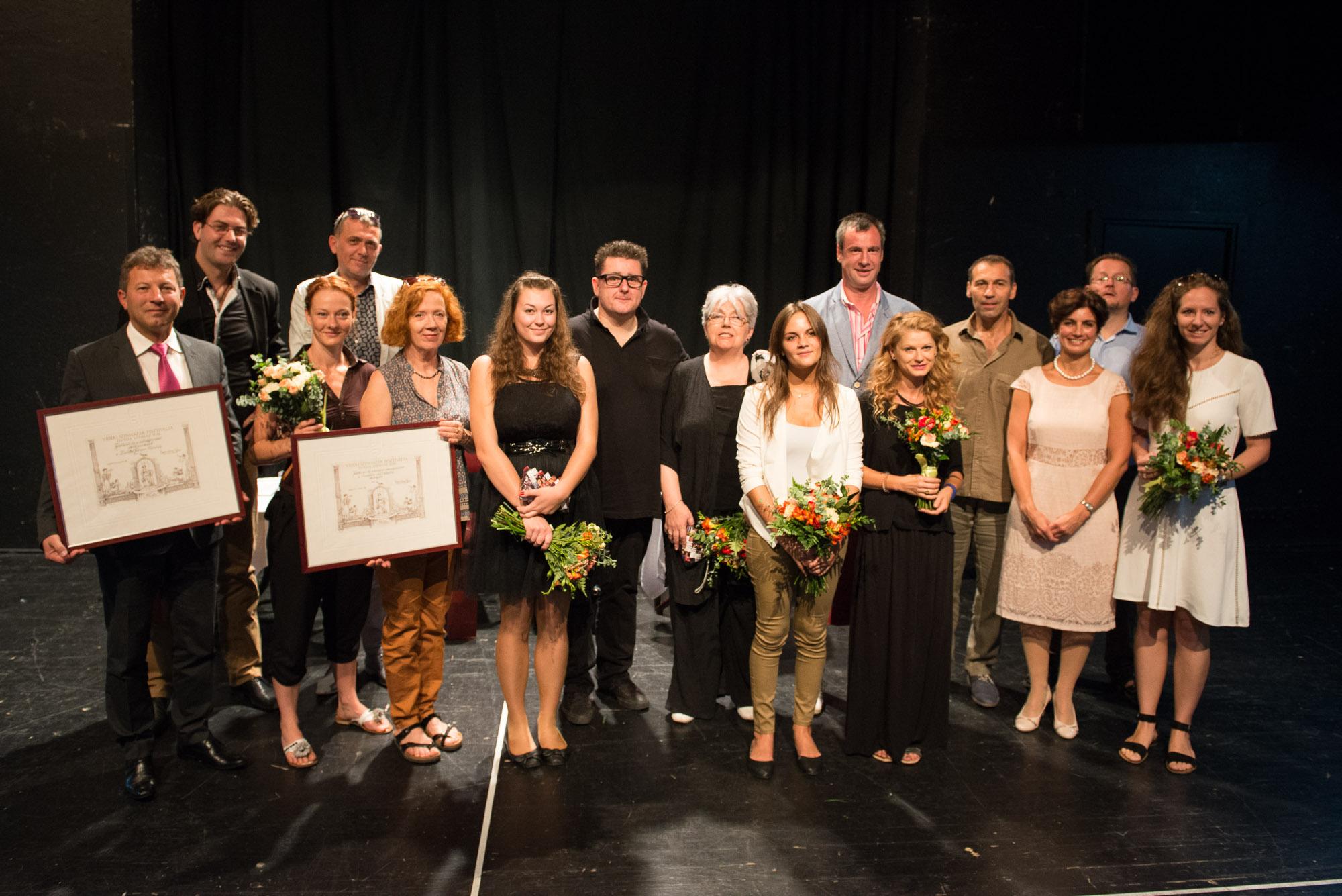 Átadtuk a Vidéki Színházak Fesztiválja 2016 díjait