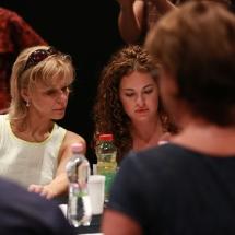 Alul semmi - olvasópróba - Fotók: Csatáry-Nagy Krisztina