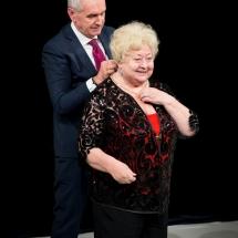Molnár Piroska Kaposvár díszpolgára - fotó: Kállai-Tóth Anett